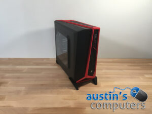 Black & Red Window Custom Built Desktop Computer