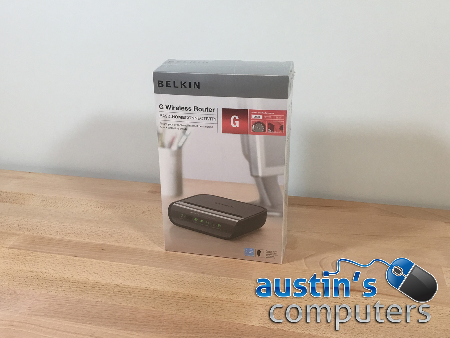 how to connect belkin router to computer