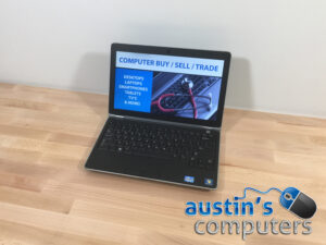 "Mini Dell Latitude 12.5"" Business Class Laptop w/SSD"