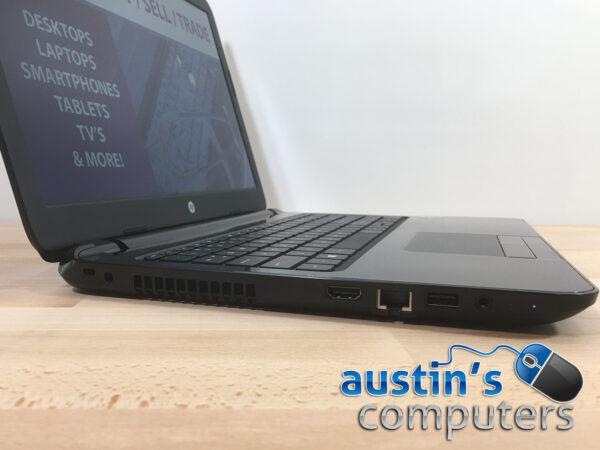 "Glossy Black HP 15.6"" Laptop Computer"