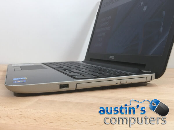 "Dell Steel Gray 15.6"" Laptop Computer"